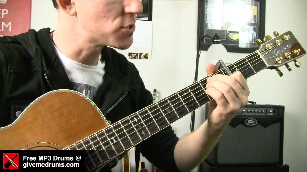 Crazy ★ Gnarles Barkley - Guitar Lesson – How To Play Easy Acoustic Songs