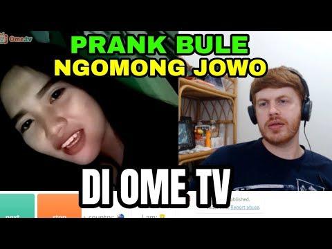 PRANK BULE NGOMONG JOWO DI OME TV