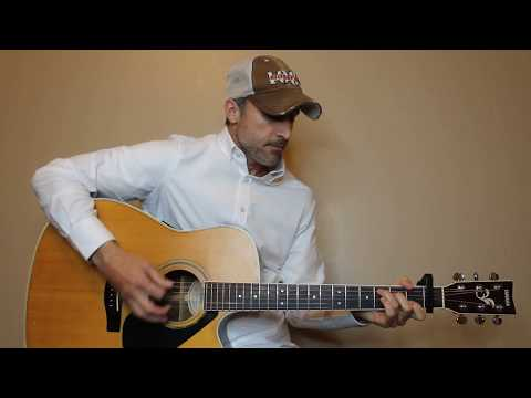 Kinda Don't Care - Justin Moore - Guitar Lesson | Tutorial Mp3