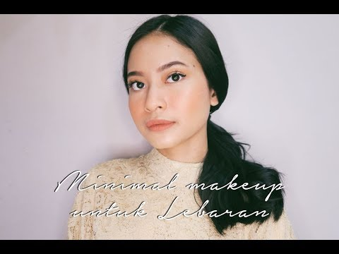 Minimal Makeup For Lebaran. | WARDAH One Brand Tutorial.