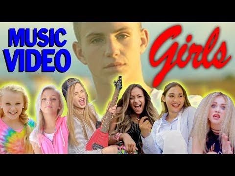 FAVORITE GIRLS in MattyBRaps Music Videos! (Jojo Siwa, Gracie Haschak, Ivey Meeks & More!)