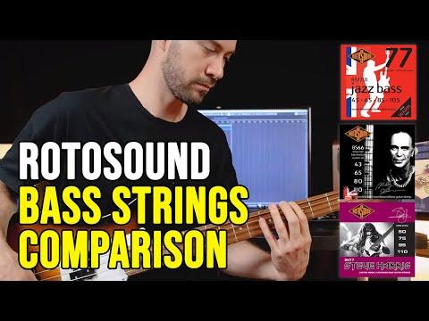 MUSICOFF: Prova Comparata delle Corde Rotosound per Basso!