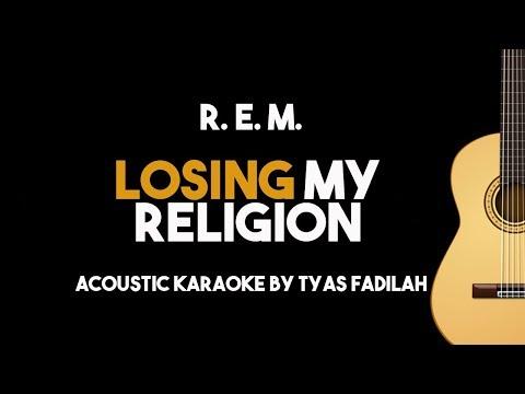 R. E. M. - Losing My Religion (Acoustic Guitar Karaoke Version)