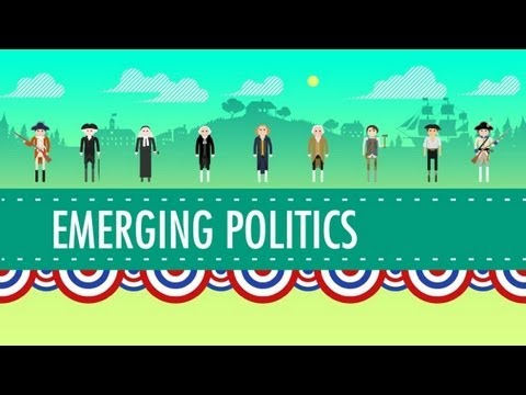 Politics - In which John Green teaches you where American politicians come from. In the beginning, soon after the US constitution was adopted, politics were pretty non-...