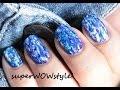Denim Nails !! - NO TOOLS !! - Nail Art Designs Without