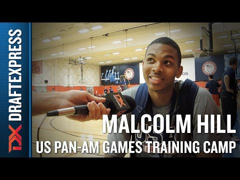 Malcolm Hill 2015 US Pan-Am Games Training Camp Interview