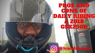 7. CAN YOU DAILY RIDE A 2018 SUZUKI GSX250R