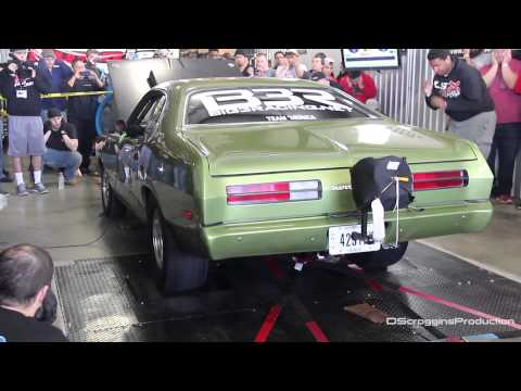 1972 Turbo Duster on the Dyno