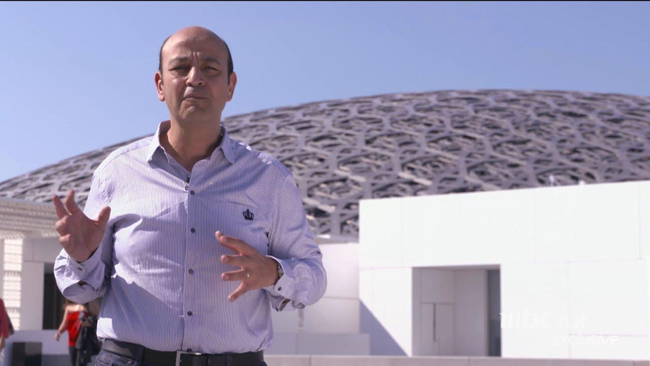 """انتظروا عمرو اديب الليلة من داخل """"متحف اللوفر"""" بأبوظبي 10 مساء في #الحكاية"""