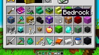 Minecraft but I Get a RANDOM Item EVERY 5 SECONDS..