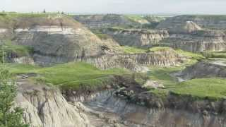 Drumheller (AB) Canada  City new picture : Horseshoe Canyon in the morning. (17 km west of Drumheller, Ab, Canada)