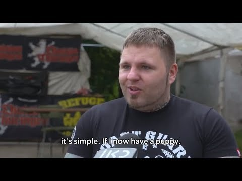 """Holocaust Studies? unnecessary"": Interview with a neo-Nazi leader"