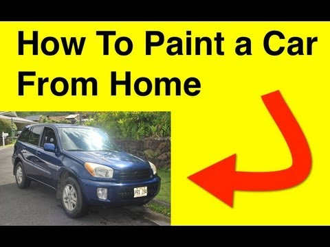 How To Paint a Car - DIY