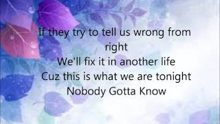 Why Don't We - Nobody Gotta Know (With Lyrics)