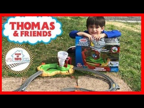 Thomas and Friends Track Master Twisting Tornado Play Set! Trains for Kids
