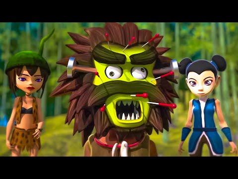 Oko Lele - Episode 43: The Bamboo forest - CGI animated short