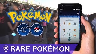 FINDING RARE POKÉMON IN POKÉMON GO by Trainer Tips