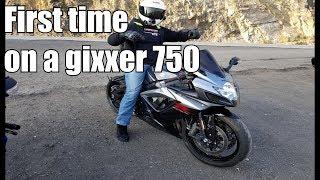 4. My First Time Riding a SUZUKI GSXR 750! | Str805Speed