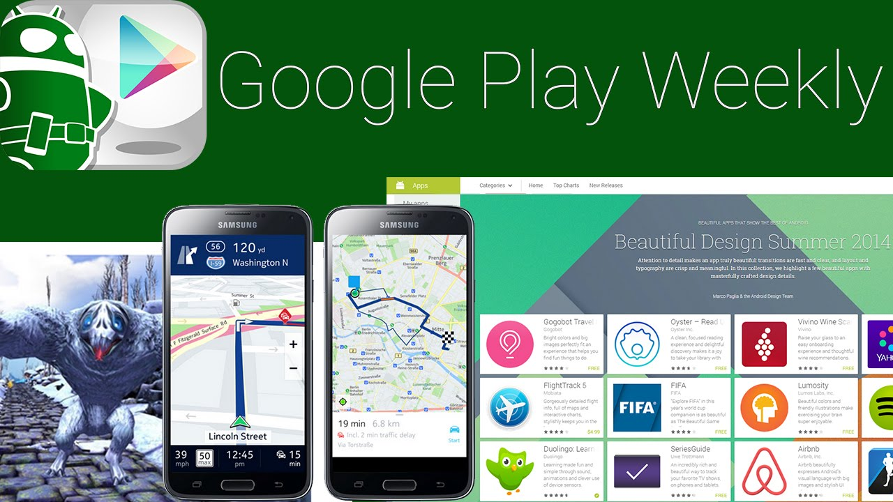 Bungie and Google teamed up, Temple Run going VR, some IFA stuff! – Google Play Weekly