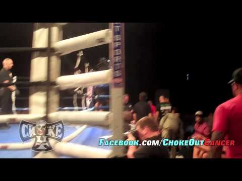 War MMA 1 (Dominic Clarke) Walk OuT with ChokeOuT Cancer