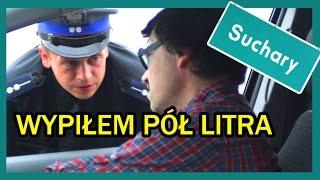 Policja czai się wszędzie! Gdy wypijesz pół litra, a musisz wrócić do domu!