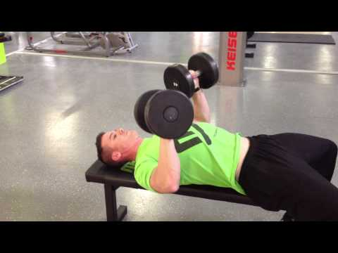 Flat Dumbbell Bench Press  - Quarter REP PUMP METHOD