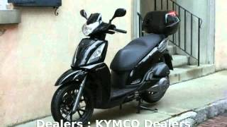 4. 2012 KYMCO People GT 200i - Features and Specification