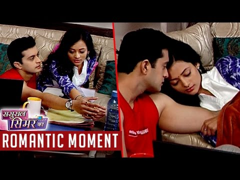 Piyush & Vaidehi CAUGHT In Romantic Mood | Sasural