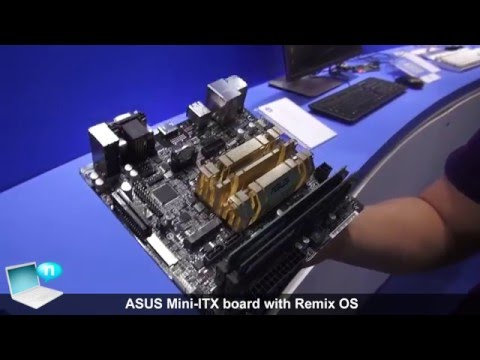 ASUS Mini ITX board with Remix OS