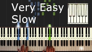 Video Chopsticks - Piano Tutorial Easy SLOW - How To Play (Synthesia) MP3, 3GP, MP4, WEBM, AVI, FLV Juni 2018