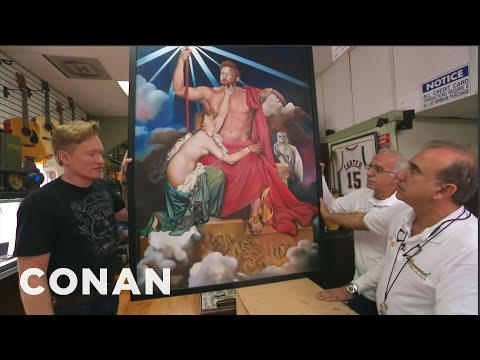 Watch as Conan tries to Pawn some of his memorabilia