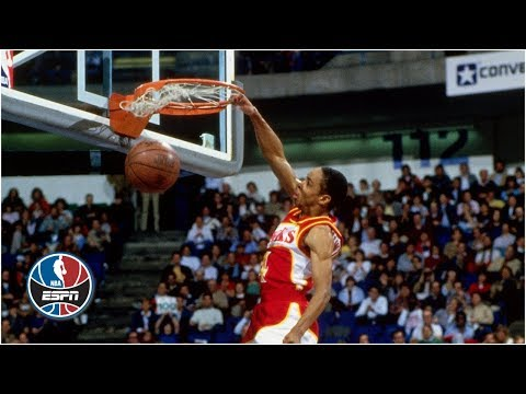 5-foot-7 Spud Webb wins 1986 NBA Slam Dunk Contest | ESPN Archive