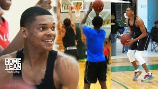 Ronaldo Segu, Nassir Little, Zach Scott, Amanze Ngumezi & 1 Family have a shooting contest & scrimmage during a practice. Footage from upcoming NOIS episode