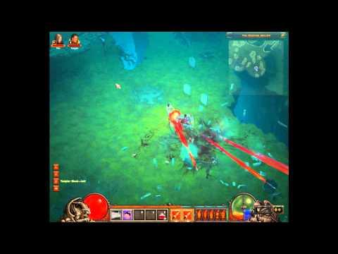 Diablo 3 Beta Patch 5 - AWESOME New Demon Hunter Skill Rapid Fire aka Machine Gun
