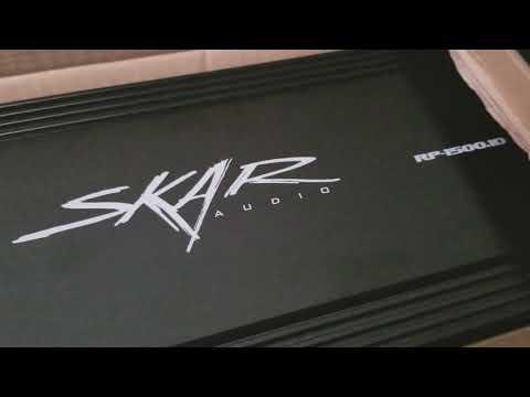 SKAR Audio RP-1500.1D on 2 SA 8 v2s!