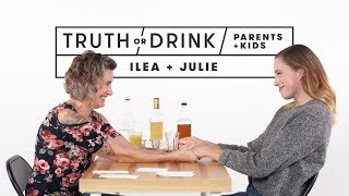 Video Parents and Kids Play Truth or Drink (Ilea & Julie) | Truth or Drink | Cut MP3, 3GP, MP4, WEBM, AVI, FLV Januari 2019