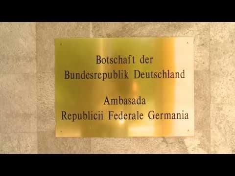 Președintele țării a depus flori la Ambasada Republicii Federale Germania