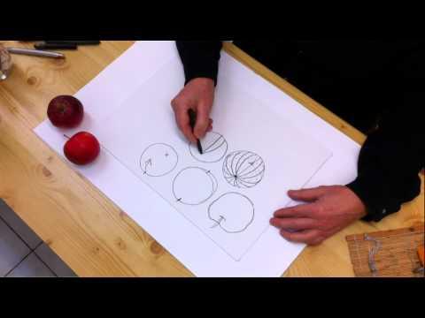 Atelier Peter Schneider  –  Zeichenkurs Teil 1