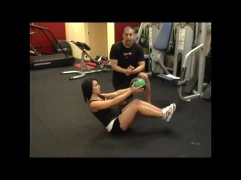 0 Get Flat Abs from a Medicine Ball