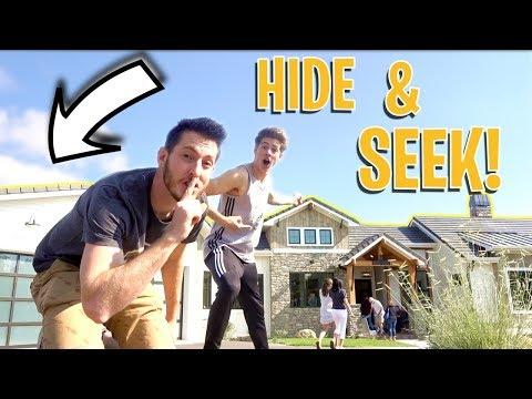 HIDE AND SEEK IN MILLION DOLLAR MODEL HOMES! (видео)