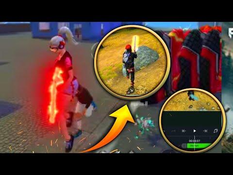 como fazer o efeito de raio na arma ou no personagem pelo Android