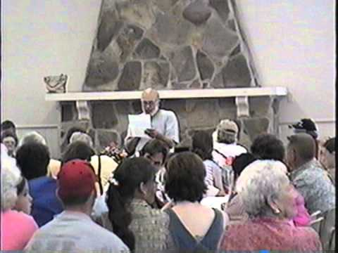 Pernell Roberts at Roberts Reunion, 2000
