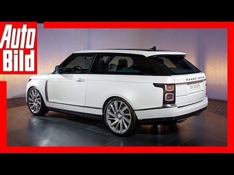 Range Rover SV Coupé (Genf 2018) Sitzprobe/Details/ ...