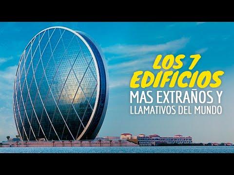 Los 7 Edificios MÁS EXTRAÑOS Y LLAMATIVOS del Mundo (видео)