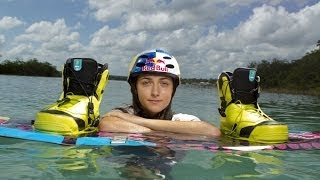 The girl who walks on water - Pro Wakeboarder Larisa Morales