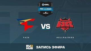FaZe vs Hellraisers - ESL Pro League S6 EU - de_inferno [yXo, Enkanis]