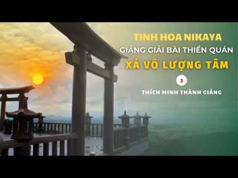 Tinh Hoa NIKAYA - Giảng Giải Bài Thiền Quán - Xả Vô Lượng Tâm 3