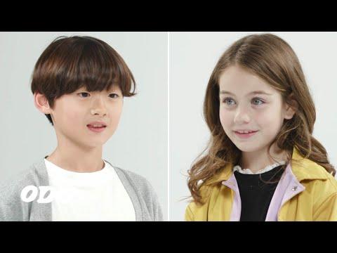 한국아이가 미국아이를 처음 만나면 하는 말   Hyunho&Carson EP1   ODG