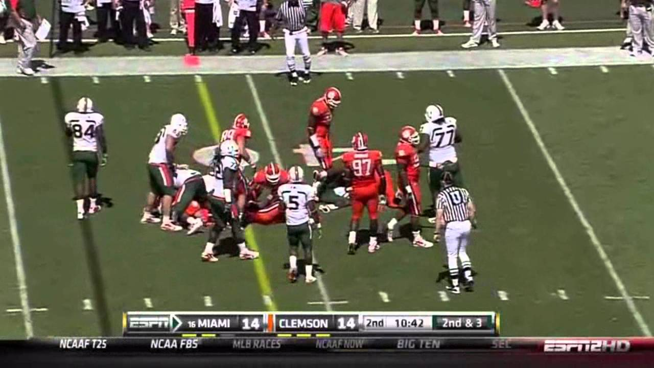 Rashard Hall vs BC and Miami vs  ()
