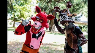 Foxy and Nightmare Foxy cosplay contest (2nd place!)